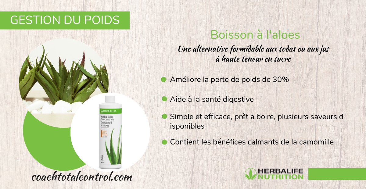 Boisson à l'aloes Herbalife