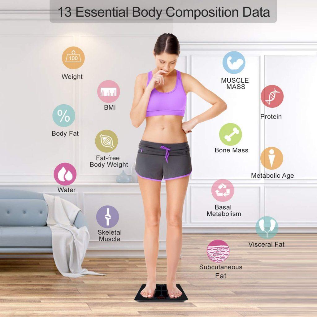 Balance impédence composition corporelle Renpho