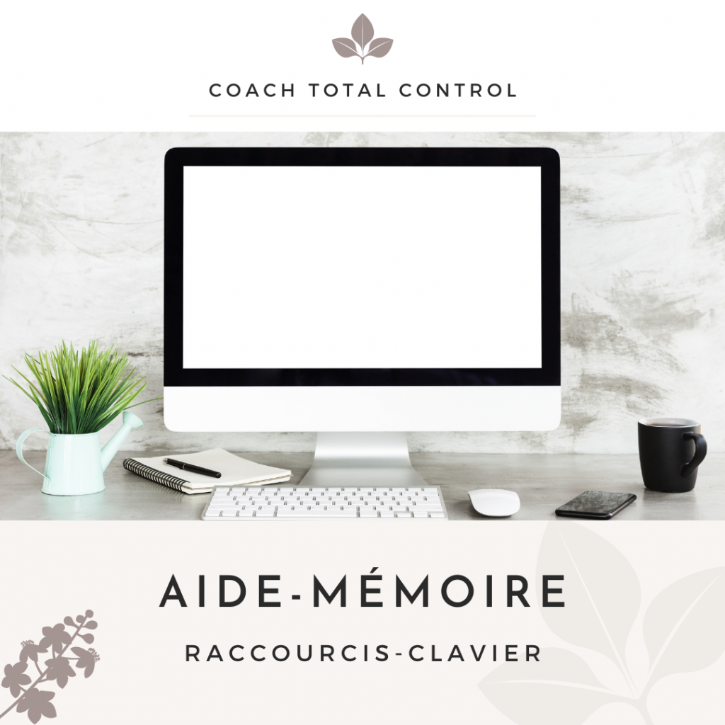 Opt-in aide-mémoire raccourcis clavier