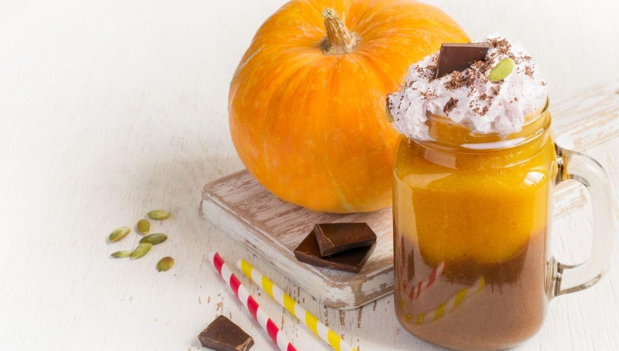Shake citrouille chocolat